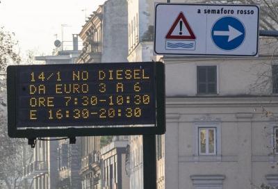 Blocchi del traffico: Roma ancora contro i diesel Euro 6