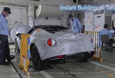 Alfa Romeo 4C a batteria grazie a Yamaha