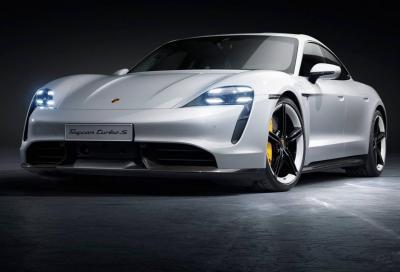Porsche Taycan: la frenata rigenerativa produce fino a 265 kW