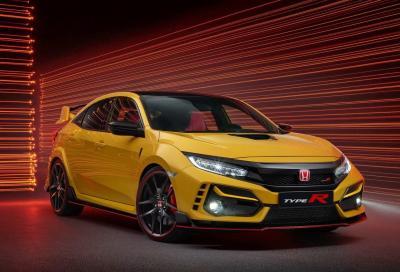 """Honda Civic Type R: in arrivo la """"bella"""" e la """"bestia"""""""