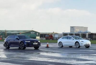 Tesla Model 3 Performance vs Audi RS6 Avant: gretini versus petrolheads