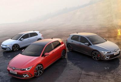 Volkswagen Golf GTI, GTD e GTE: la Nina, la Pinta e la Santa Maria