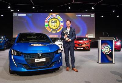 Peugeot 208: premiata Auto dell'Anno 2020