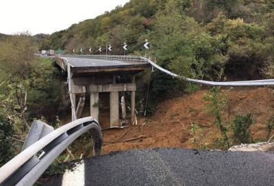 Autostrada A6 (Torino-Savona): la frana avanza e il viadotto viene chiuso