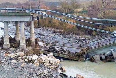 Viadotti: nuovo crollo, questa volta sulla Cassia