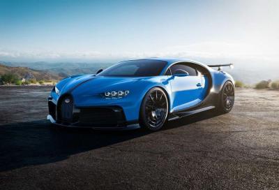 Bugatti Chiron Pur Sport: per chi ama andare forte anche in curva