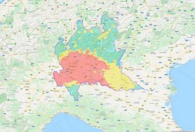 Coronavirus: l'inquinamento in Lombardia non cala