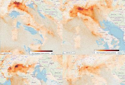 Coronavirus: calano NOx e CO2ma non il PM10