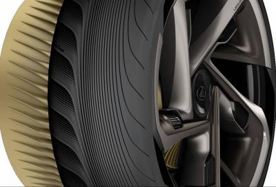 Lexus LF30 Electrified: i motori elettrici raffreddati da speciali pneumatici Goodyear
