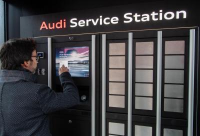 Audi: da oggi il tagliando lo fai in aeroporto
