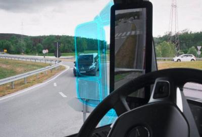 MirrorCam: gli specchietti secondo Mercedes