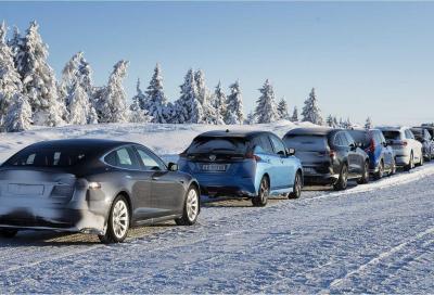 Auto elettriche: come si comportano al freddo norvegese?