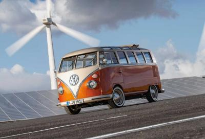 Volkswagen e-Bulli: riconversione in chiave elettrica