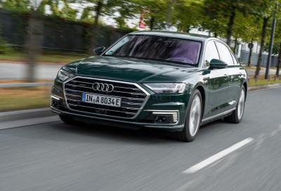 Audi: anche l'ammiraglia A8 si elettrifica