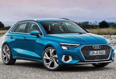 Audi A3 Sportback 2020: svelato l'allestimento sportivo