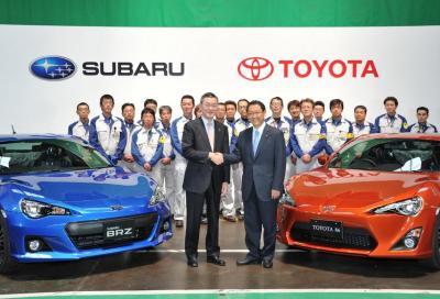 Subaru BRZ e Toyota GT86: fine dei giochi