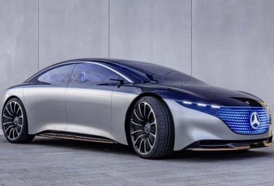 Mercedes EQS: potrebbe arrivare una variante AMG