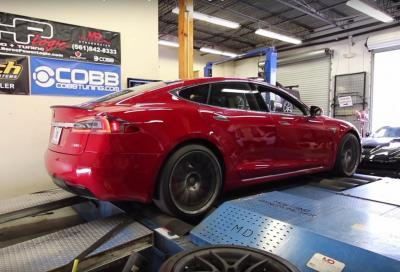Tesla ferma la Dyno Mode: troppo pericolosa per strada