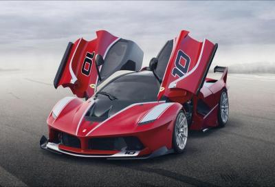 Ferrari FXX K: l'ipnotico giro sul Circuito di Monza