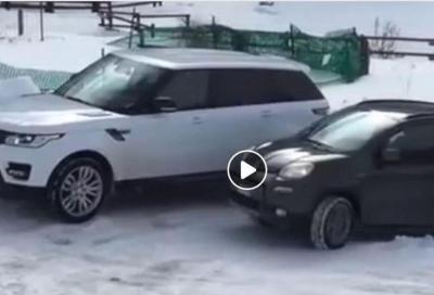 Fiat Panda 4x4: su neve nulla la può battere