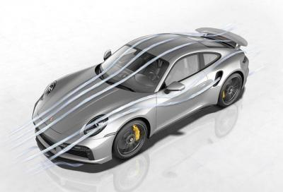 Porsche 911 Turbo S: l'aerodinamica si evolve guidando