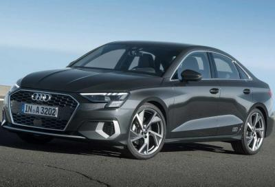 Nuova Audi A3 Sedan: la simil coupé mild-hybrid