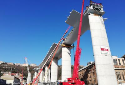 Ponte Morandi: l'opera è prossima alla conclusione