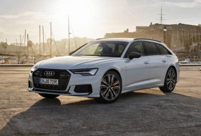Audi A6: la Avant guadagna la spina