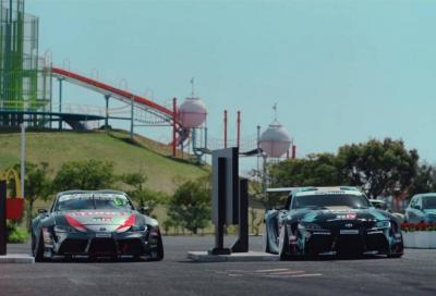 Toyota Supra e Nissan GT-R Nismo elaborate ed è subito Drift King