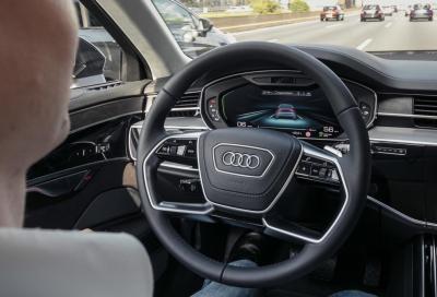 Audi A8: niente guida autonoma di Livello 3