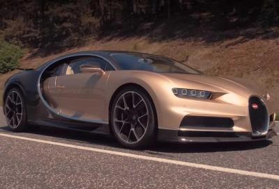 Bugatti Chiron: per andare a 420 km/h serve la chiave