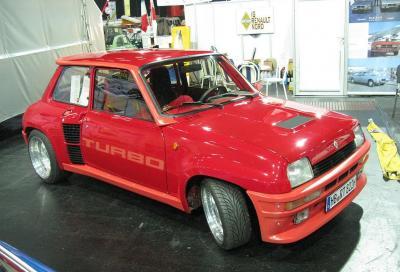 La Renault 5 Turbo spegne 40 candeline