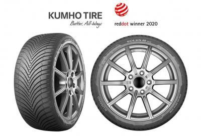 Kumho Tyre vince Red Dot Design Award
