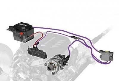 Bmw e la tecnologia mild-hybrid a 48 Volt