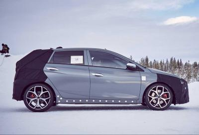 Hyundai i20N: al via i test sulle nevi svedesi