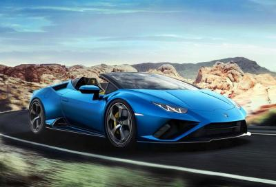 Lamborghini Huracan EVO RWD Spyder: la posteriore en plein air