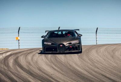 Bugatti Chiron Pur Sport: ora sa pure driftare
