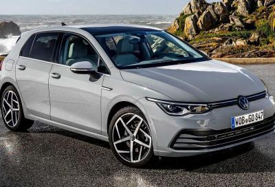 Volkswagen Golf 8: interrotta la produzione per problemi al software