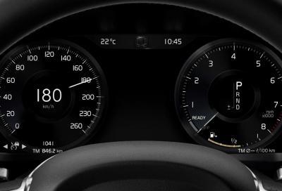 Volvo: dal 2020 velocità massima limitata a 180 km/h