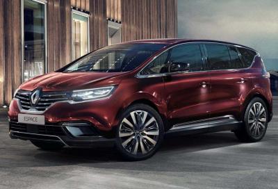 Renault: addio a Scenic, Espace e Talisman?