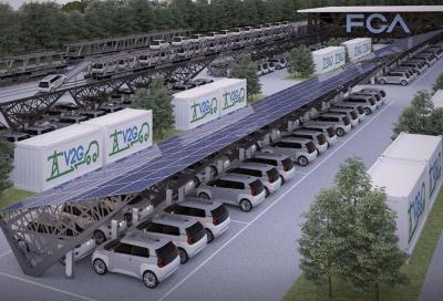 FCA, Mirafiori: parte il progetto Vehicle-to-Grid