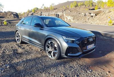 Audi RS Q8: come canta senza filtro antiparticolato?