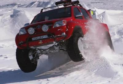 Toyota Hilux Artic Trucks: Polo Sud non ti temo