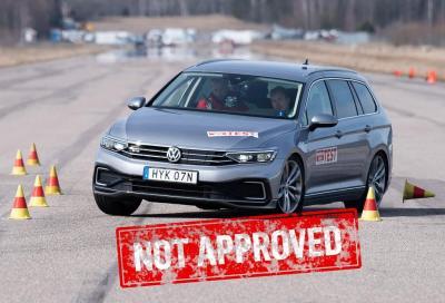 Volkswagen Passat Variant GTE MY20: rimandata al test dell'alce