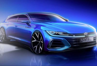 Volkswagen Arteon: col restyling arriva la wagon