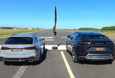Urus vs RS6 Avant: sfida in salsa V8 biturbo