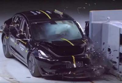 La Tesla Model 3 cinese alla prova dei crash test