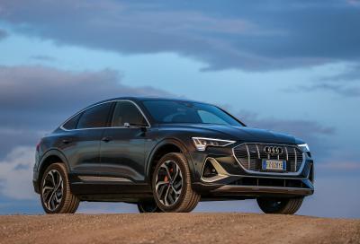 Audi e-tron Sportback: passista ecologica
