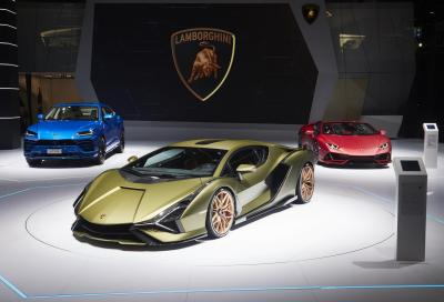 Lamborghini: niente più Saloni dell'Auto