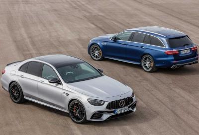 Mercedes-AMG E 63: la super berlina e la super wagon si rinnovano